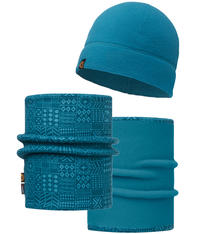 Polar Hat and Neckwear Set - Denver Ocean