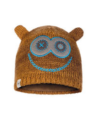 Child Knitted & Fleece Hat Monster Tundra