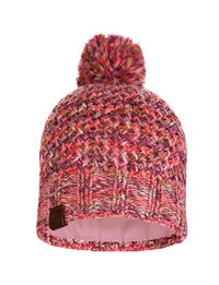 Knitted & Polar Hat - Margo Flamingo Pink