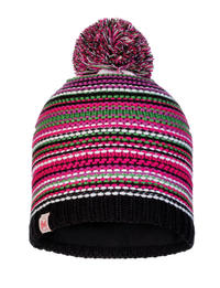 Junior Knitted & Fleece Hat Amity Multi