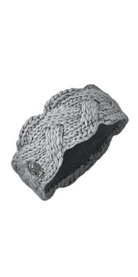 Knit Headband - Nyssa Light Grey