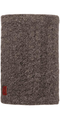 Knit Neckwarmers - Amby Brown