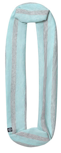 Infinity Cotton - Aqua Stripes