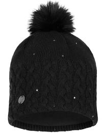 Knitted & Polar Hat - Ellie Black
