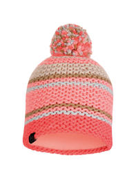 Knitted & Polar Hat - Dorian Coral Pink