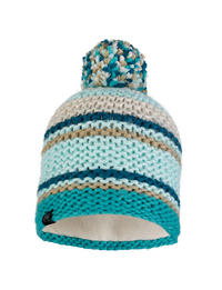 Knitted & Polar Hat - Dorian Aqua