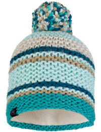 Knitted & Fleece Hat - Dorian Aqua
