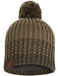Knitted & Fleece Hat Borae Khaki