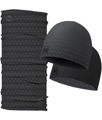 Original Hat and Neckwear Set - Theo Graphite