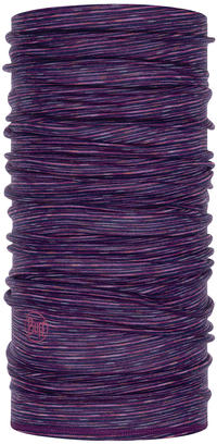 Lightweight Merino Wool - Purple Multi