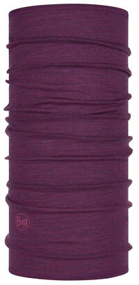 Lightweight Merino Wool Purple Multi