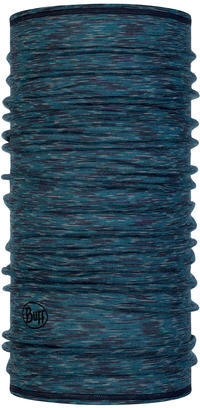 Lightweight Merino Wool Lake Blue Multi