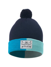 Junior Knitted Hat - Kelda Blue