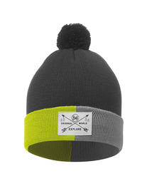 Junior Knitted Hat - Kelda Grey