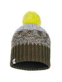 Junior Knitted & Fleece Hat - Tait Forest