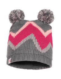 Child Knitted & Fleece Hat - Arild Grey