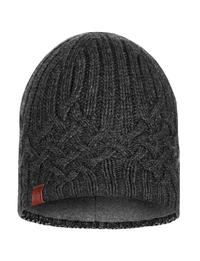 Knitted & Polar Hat - Helle Graphite