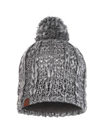 Knitted & Polar Hat - Liv Pebble Grey