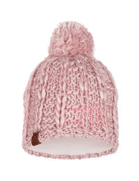 Knitted & Polar Hat - Liv Coral Pink