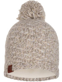 Knitted & Fleece Hat - Agna Sand