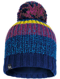 Knitted & Fleece Hat - Stig Night Blue