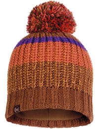 Knitted & Fleece Hat - Stig Tundra Khaki