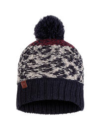 Knitted & Polar Hat - Thor Navy