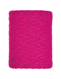 Knit Neckwarmer - Ebba Bright Pink