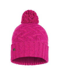Knitted & Polar Hat - Ebba Bright Pink