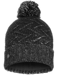 Knitted & Fleece Hat - Ebba Black