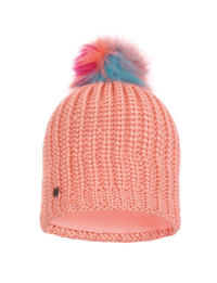Knitted & Polar Hat Dania Peach