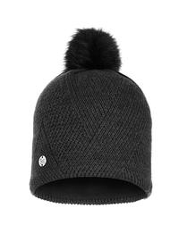 Knitted & Polar Hat - Disa Black