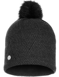 Knitted & Fleece Hat - Disa Black
