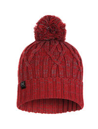 Knitted & Polar Hat - Idun Red