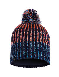 Knitted & Polar Hat - Iver Medieval Blue