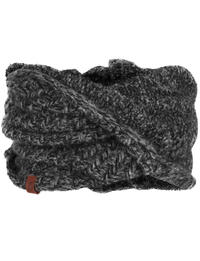 Knit Neckwarmer Agna Black