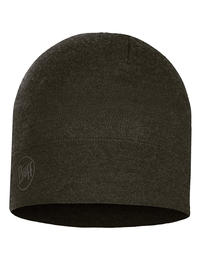 Midweight Merino Wool Hat - Forest Night Melange