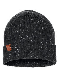 Knitted Hat Kort Black