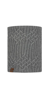 Knitted & Fleece Neckwarmer Helle Castlerock Grey