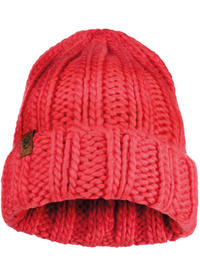 Knitted Hat - Vanya Blossom Red