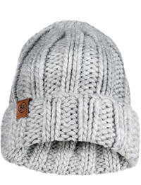 Knitted Hat - Vanya Melange Grey