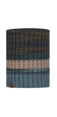 Knitted & Fleece Neckwarmer - Alina Blue