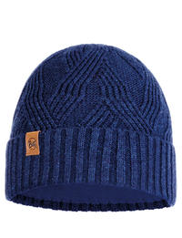 Knitted & Fleece Hat - Artur Night Blue