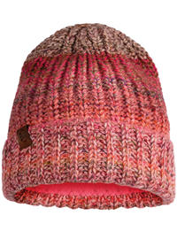 Knitted & Fleece Hat - Olya Dune