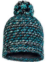 Knitted & Fleece Hat - Valya Turquoise