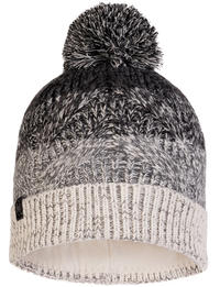 Knitted & Fleece Hat Masha Grey