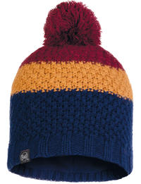 Knitted & Fleece Hat - Jav Night Blue