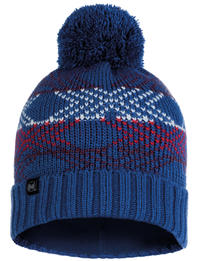 Knitted & Fleece Hat - Garid Blue