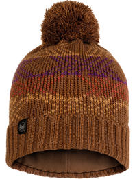 Knitted & Fleece Hat - Garid Tundra Khaki