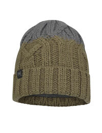 Junior Knitted & Fleece Hat Ganbat Bark